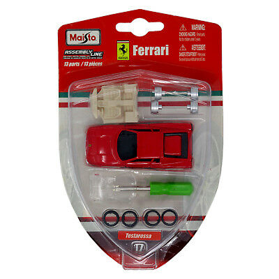 Maisto Assembly Line Ferrari 1/64 Scale - - Maisto Assembly Line