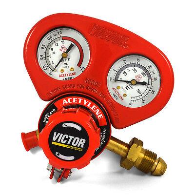 Victor Medium Duty Acetylene Regulator W Gauge Guard G250-15-510 1429-0069