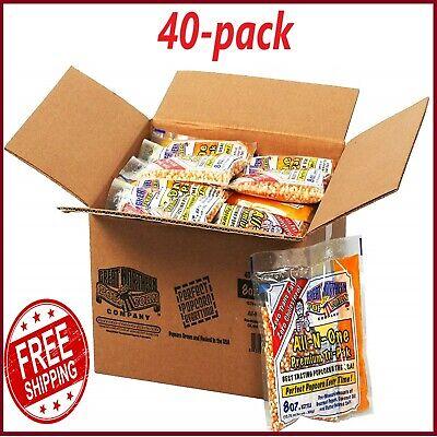40 Pack Great Northern Popcorn Kernels 8 Oz
