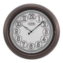403-3246BR La Crosse Clock Co. 18 Indoor/Outdoor Lighted Dial Wall Clock Bronze