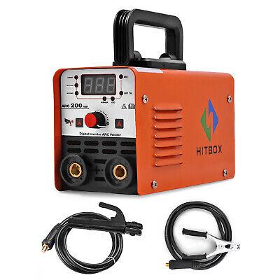 Hitbox 220v Lift Tig Mma Welder Arc-200 Arc Stick Ac Inverter Welding Machine