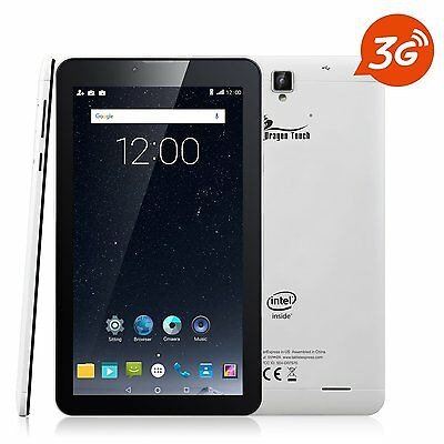 Dragon Touch S7 7'' 3G Phablet Android Tablet GPS GSM Dual Sim Card  Refurbished