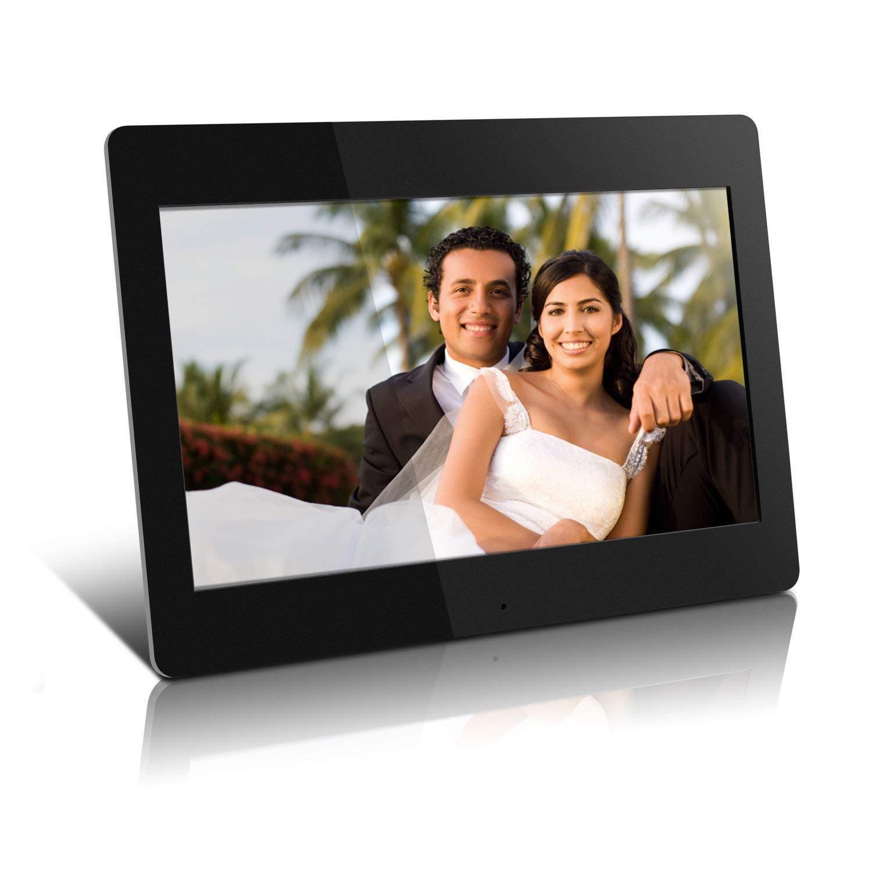 "Aluratek - 14"" Widescreen LCD Digital Photo Frame -Black-"