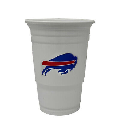 Buffalo Bills Football League Licensed Party/Game Day Plastic Cups - 18oz - Plastic Football Cups