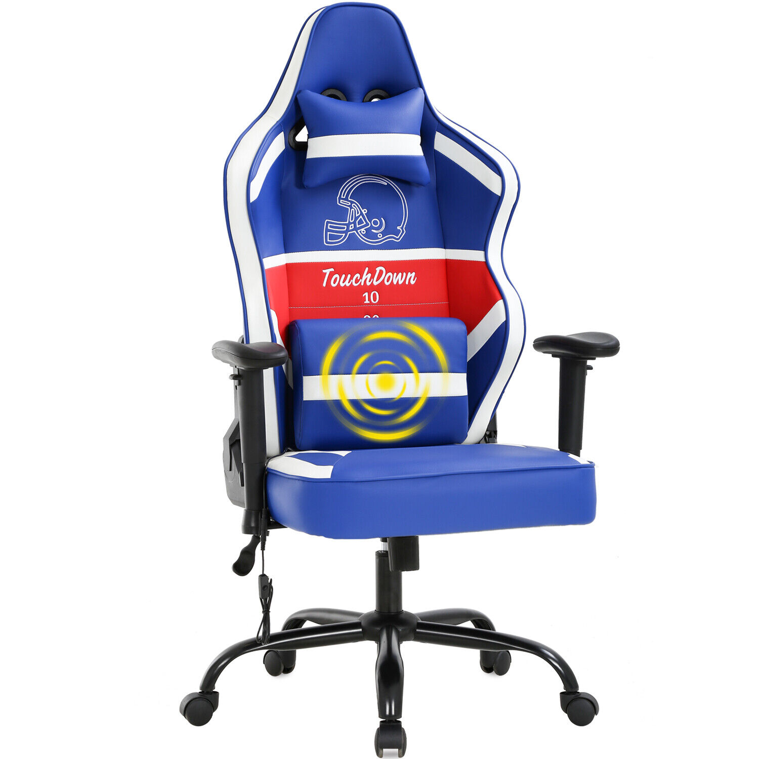 Gaming Chair Big and Tall Office Chair 500lb w/ Lumbar Suppo
