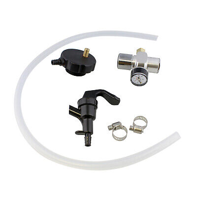 Mini Keg Dispenser Kit - Co2 Regulator For Draft Beer Keg W 2 Ft Hose And Spout