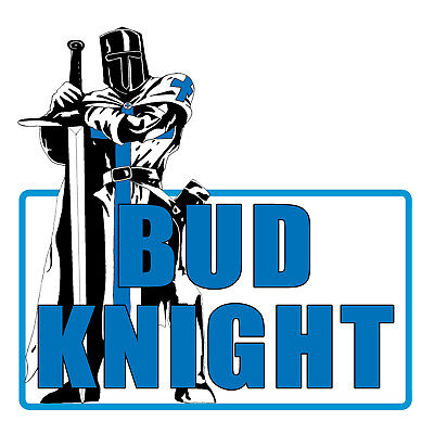 Kamisco super bowl ads collectibles bud knight shirt super bowl commercial bud light lt budweiser funny beer ad usa aloadofball Choice Image