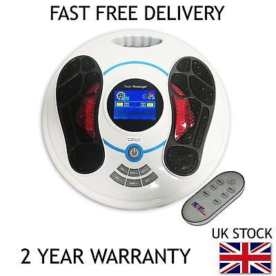 HEARTLINE CIRCULATION PLUS BOOSTER FOOT MASSAGER & REMOTE CONTROL