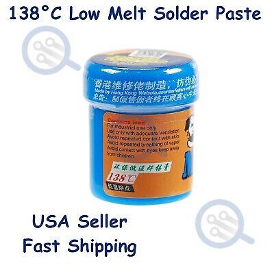 138c Low Melt - Low Temperature Solder Paste Sn42bi58 For Micro Soldering