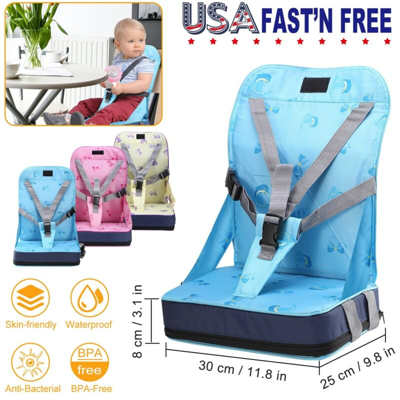 Kids Baby High Chair Dining Feeding Chair Booster Seat Foldable Travel Portable