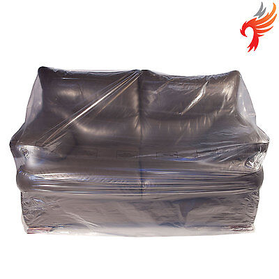 Pack of 3 furniture protector dust cover bags - armchair, 2-seat, 3-seat sofa