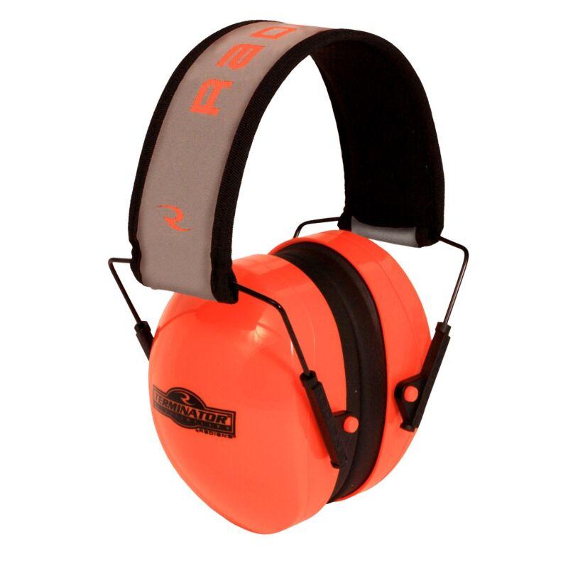 NEW RADIANS HI-VISIBILITY TERMINATOR FOLDING EAR MUFFS ORANGE TR0HVO-BX