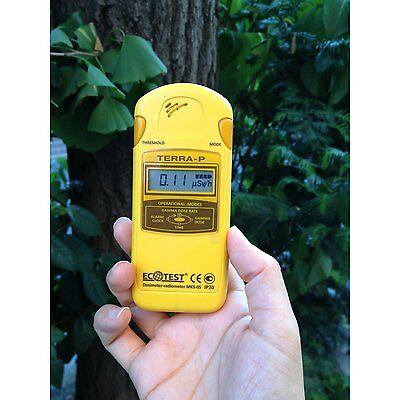 Dosimeter Terrap Mks 05 Ecotest Radiometer Geiger Counter Radiation Detector
