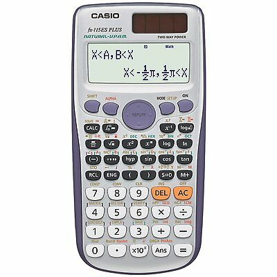 Casio FX-115ES Plus Advanced Scientific Calculator FX115ES 2 Line Calculator