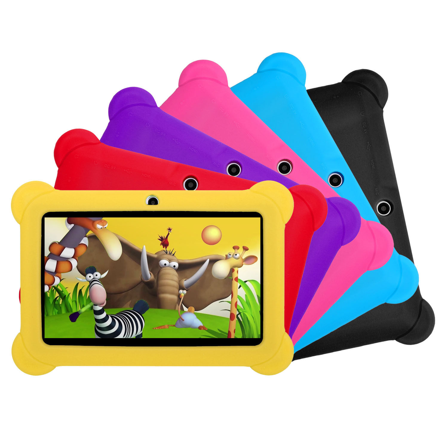 "Kids Tablet PC 7"" Android Quad Core Dual Camera 1.3Ghz 8GB WIFI Bonus Xmas Gift"