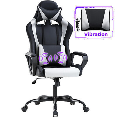 Gaming Chair Office Chair Racing Chair with Lumbar Support Arms Headrest High