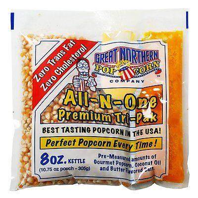 Great Northern Popcorn 1 Case  40  Of 8 Ounce Popcorn Portion Packs Kit Cinema