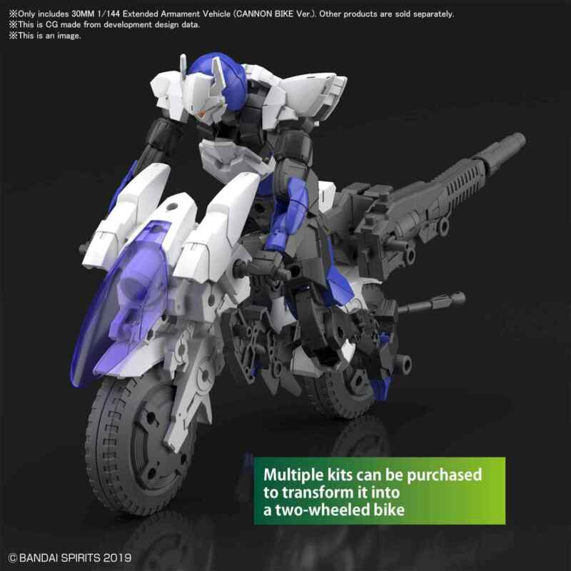 30 Minute Missions Extended Armament Vehicle Cannon Bike