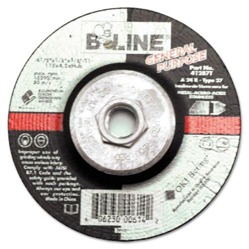 B-LINE T27 COMBO WHEEL 4-1/2 X 1/8 A30S 5/8-11 90901  - 5 Pack