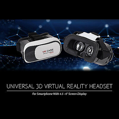 3D Virtual Reality VR Glasses Headset For Samsung Android IOS iPhone 7 8 X XS XR