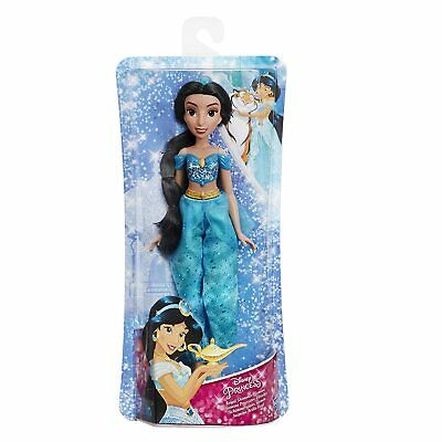 Disney Princess Royal Shimmer Jasmine Doll Kids Toy Shimmering Outfit 25.5CM New