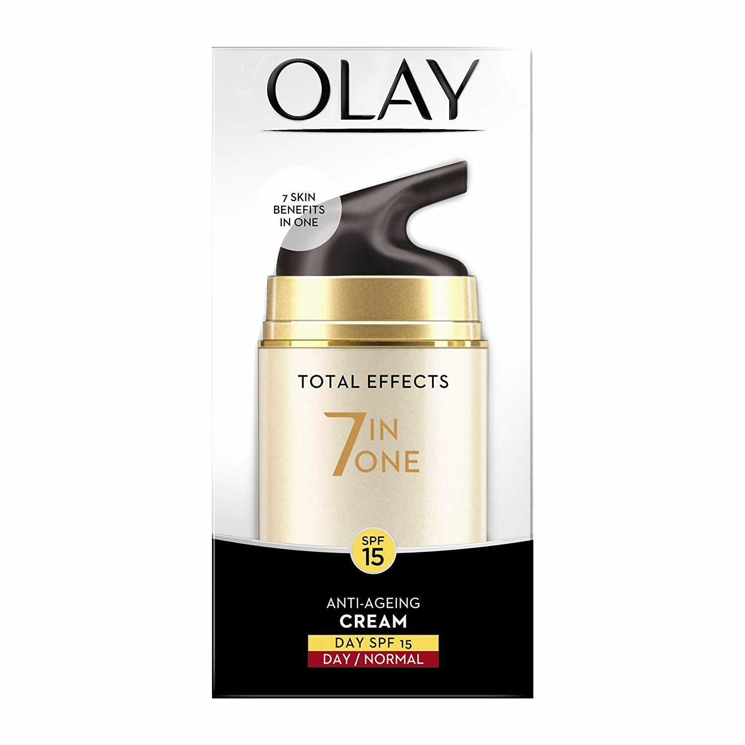 Olay Total Effects Day Cream Normal SPF 15  7-In-1 Anti-Agei