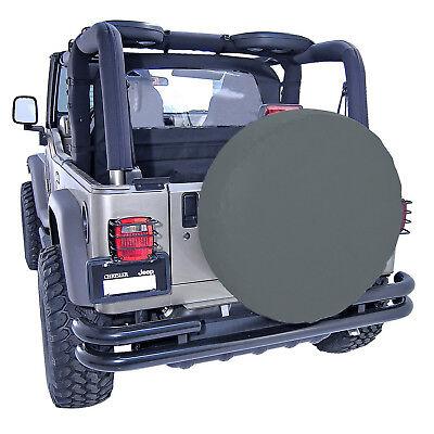 Rugged Ridge Spare Tire Cover 27 To 29 Inch Black Denim X -