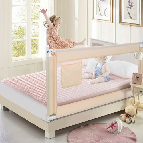 70''/180cm Toddler Bed Rail Guard Baby Safety Bedrails Swing