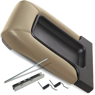 Cadillac Chevrolet GMC SUV Pickup Truck Beige Tan Center Console Lid Repair Kit