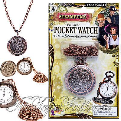 ENGLAND OLD VICTORIAN FAKE STEAMPUNK POCKET WATCH ACCESSORIES MEN'S FANCY - Fake Pocket Watch