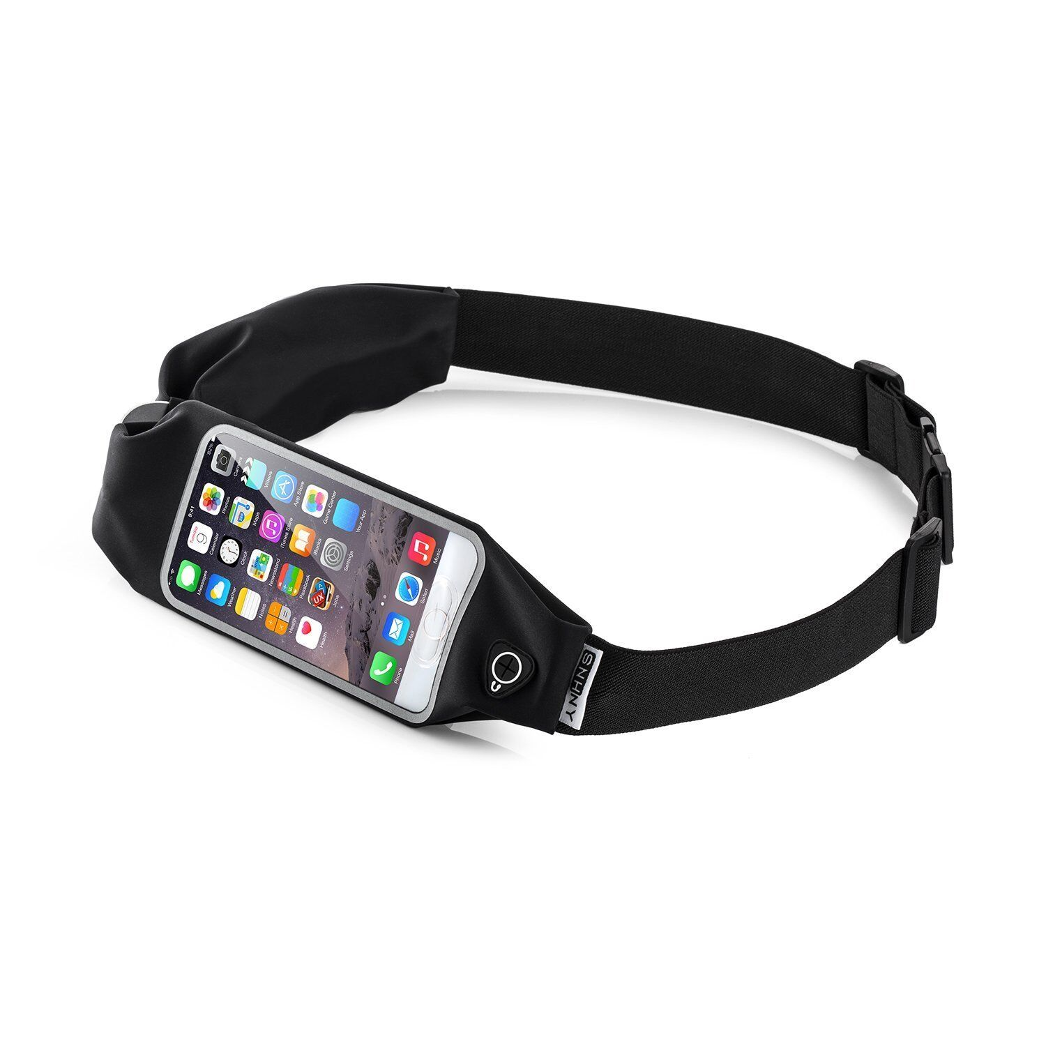 Top Fit Running Belt For Men and Women Dual Pockets W Touch