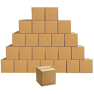 Cardboard Shipping Boxes Small 4 X 4 X 4 Inches 25 Pack