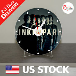 NEW Linkin Park CD Clock Band Rock Chester Bennington Art decor unique peace USA