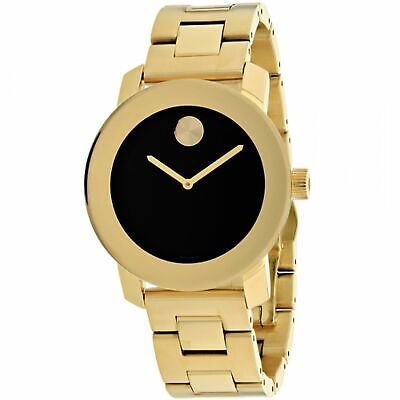 Movado 3600397 Unisex Bold Black Quartz Watch