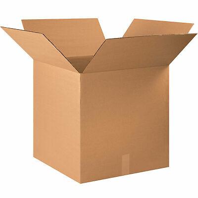 22 X 22 X 22 Cardboard Corrugated Box 65 Lbs Capacity 200ect-32 Lot Of