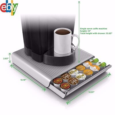Best 36 K Cup Holder Rack Storage for Keurig Coffee Pod Stand Drawer Organizer