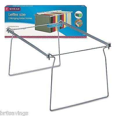 Smead Steel Hanging Letter File Folder Drawer Frames - 4 Frames