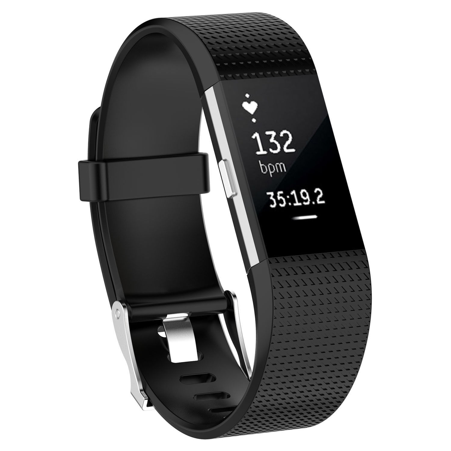 Fitbit Charge 2 Replacement Wrist Bands Smart Watch Bracelet Band Black