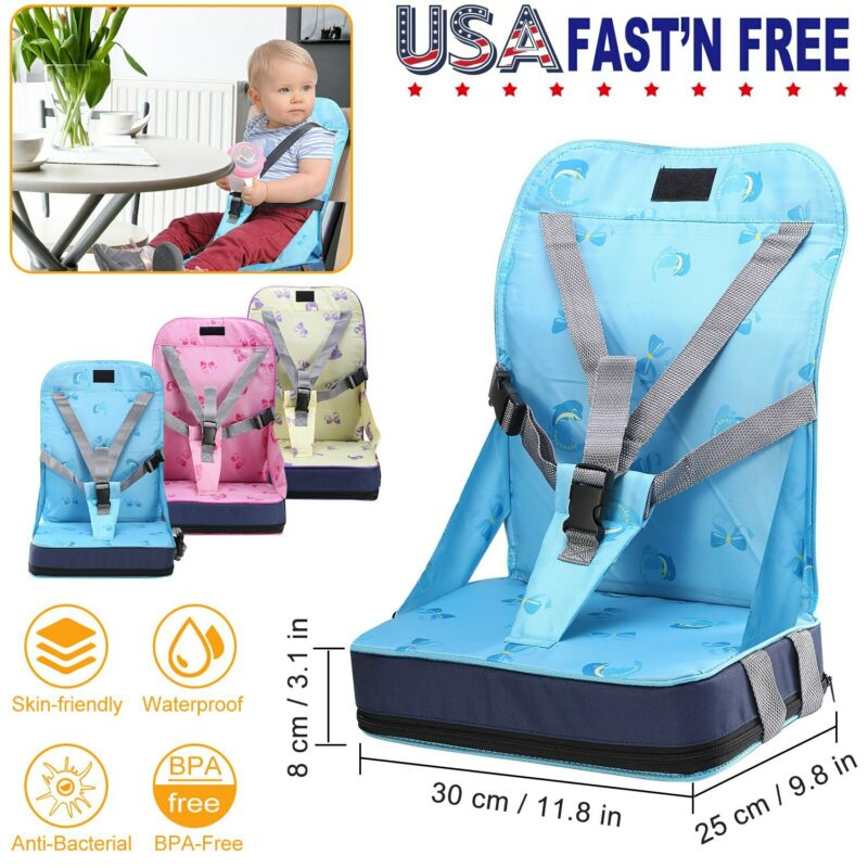 Baby Toddler High Chair Dining Feeding Booster Kids Travel Seat Portable Seat