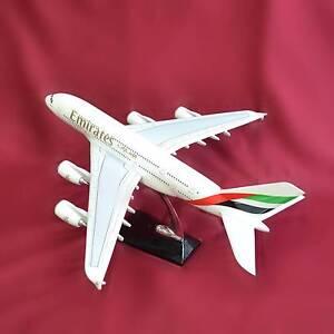 WowMart Emirate Fibreglass Resin Airbus A380 Plane Model 47cm South Granville Parramatta Area Preview