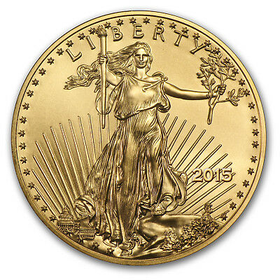 2015 1/4 oz Gold American Eagle BU - SKU #84885