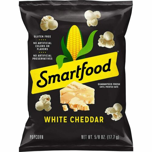 Smartfood White Cheddar Flavored Popcorn, 0.625 Ounce (Pack of 40)