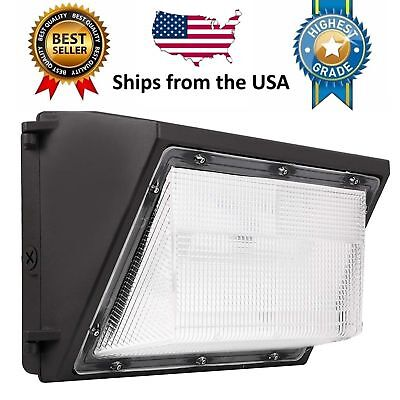 Led Wall Pack - 80w 5000k Commercial Industrial Light Fixture 9600lm 120-277v