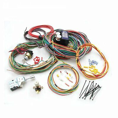 1965 - 1967 Oldsmobile Cutlass Main Wire Harness System g force 956 409 rzr
