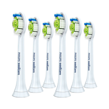 6x Philips Sonicare DiamondClean Genuine Standard Brush Heads | White | w/o Box
