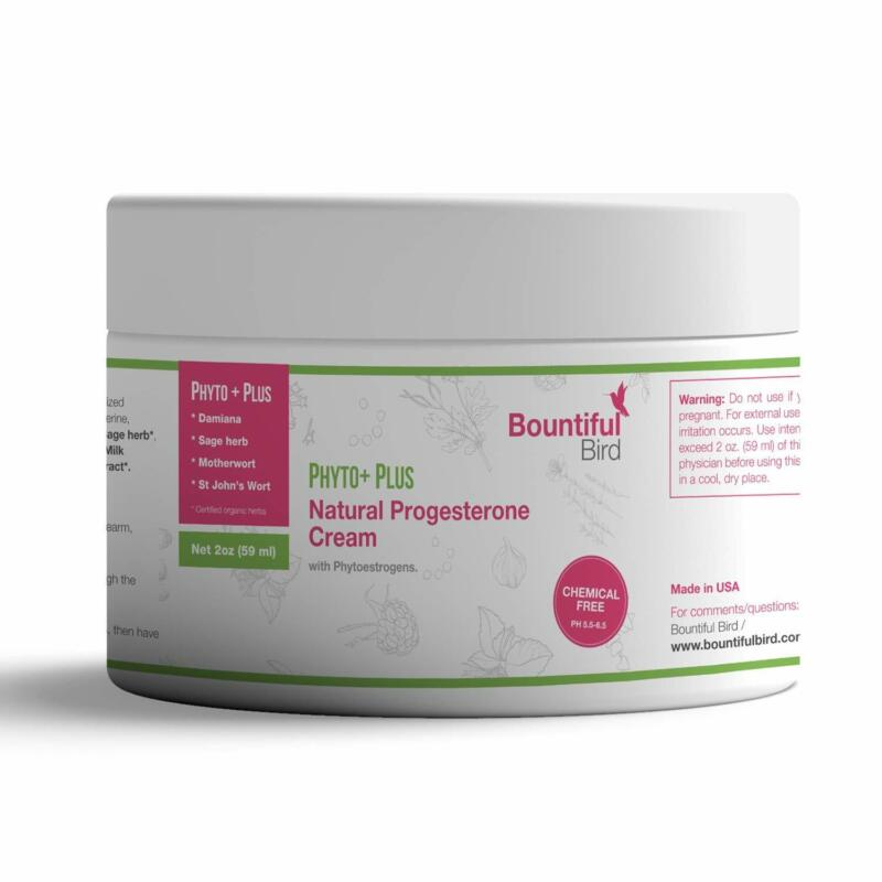 Phyto Plus Natural Progesterone Cream - with Organic Phytoes