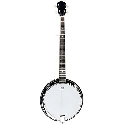NEW! 5 String Bluegrass Banjo with Remo Skin