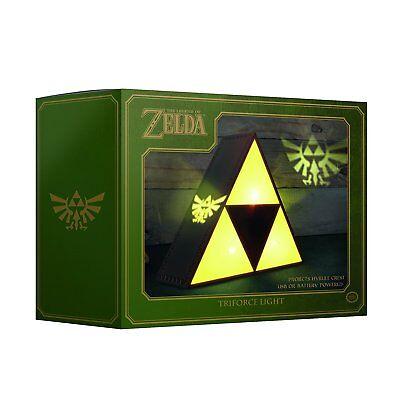 Zelda Tri-Force Lampe Licht Projiziert das Hyrule-Wappen an die Wand  NEU