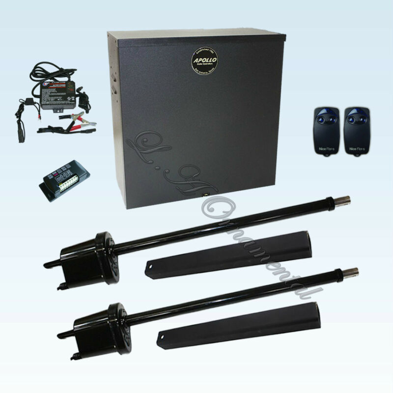 Apollo 1650 Etl Gate Opener Kit 1 Swinging Automatic Solar Residential Operator