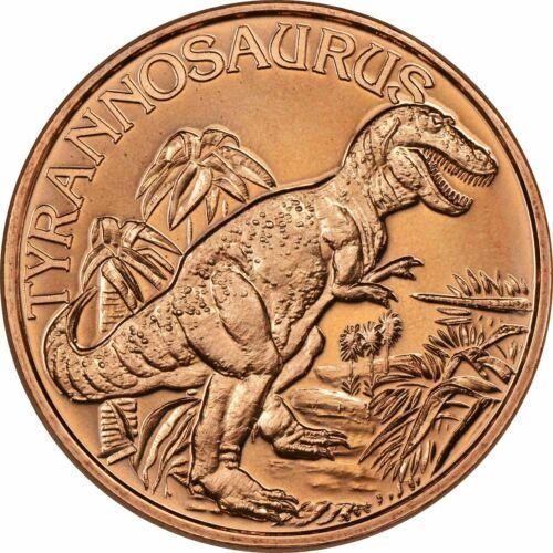 1 oz Copper Round - Tyrannosaurus Rex